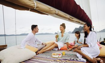Escape to Thailand On Board S/Y 'Orient Pearl'