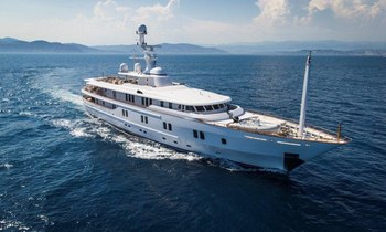 Superyacht 'New Sunrise' Joins Charter Fleet
