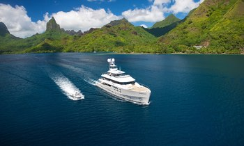 M/Y 'Big Fish' Heads to Papua New Guinea for the Summer Months
