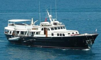 Charter Yacht 'Santa Maria' Undergoing Refit