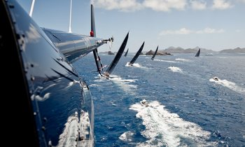 Charter Yachts Do Battle at the St Barths Bucket