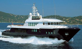 42.7 Metre Yacht Capricorn For Charter