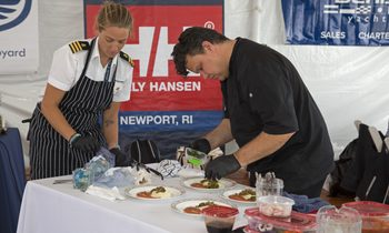 Winners of the Newport Show Chefs' Contest