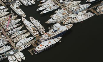 Superyachts Gather for the Palm Beach Boat Show