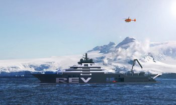World's Largest Superyacht REV Available To Charter
