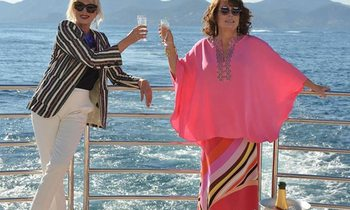 M/Y THUMPER Stars In 'Absolutely Fabulous The Movie'