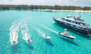 Superyacht M3 to charter in the Bahamas this April