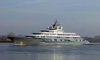 Video: new 136m Lurssen M/Y 'Project Shu' completes sea trials