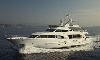 Superyacht SALU offers charter discount