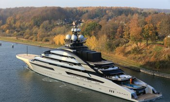 142m Lurssen superyacht NORD, formerly 'Project Opus', delivered