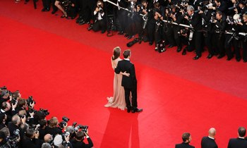 Superyacht Sherakhan leads the pack at the 2015 Cannes Film Festival
