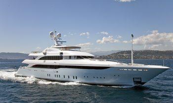 Mediterranean charter deal aboard M/Y VICTORY