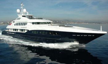 M/Y Sirocco Now Available For Charter