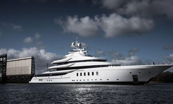 Lurssen launches 95m 'Project Fiji' as superyacht MADSUMMER