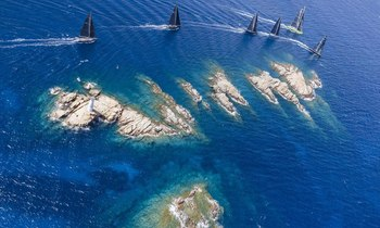 Sailing yachts set course for Sardinia ahead of 2019 Loro Piana Superyacht Regatta