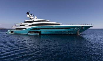 77m Turquoise M/Y GO to debut at MYS 2018