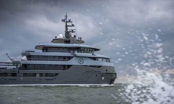 68m charter yacht RAGNAR delivered