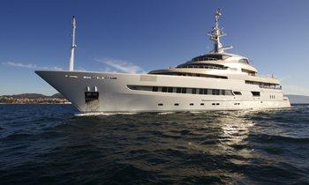 Charter Yacht PEGASO Renamed NAIA