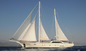 Sailing Yacht ALESSANDRO On The Move