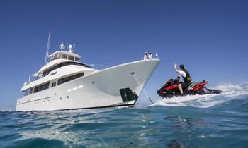 M/Y AMITIÉ Open for Charter in The Bahamas