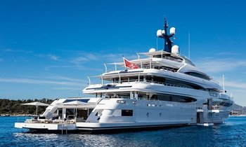 74m CRN Superyacht 'Cloud 9' set to attend  MYS 2018