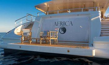 Freshly refit M/Y AFRICA joins charter fleet