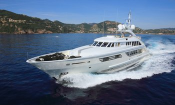 East Mediterranean charter special: last-minute availability for 47.5m superyacht ROLA