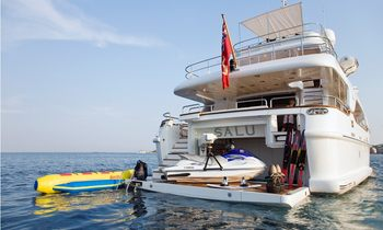 M/Y SALU Reduces Rate By 50% for Summer Charters
