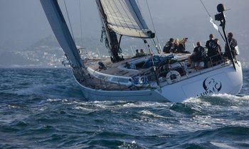 S/Y 'Lupa of London' wins Transatlantic Race
