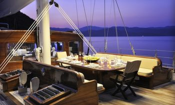 Charter James Bond 'Skyfall' Sailing Yacht REGINA in St Barts