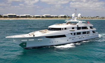 Luxury Yacht HARMONY Offering Caribbean Charters