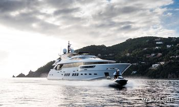 MY SOULMATE: Freshly refitted and available for charter around the Mediterranean