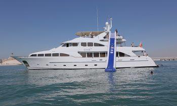 M/Y DXB Joins Charter Fleet in the Mediterranean