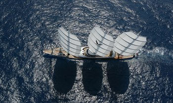 Brand New Video Of Iconic Superyacht 'Maltese Falcon'