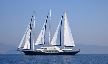 Mediterranean charter deal: S/Y MEIRA offers special rates