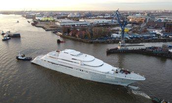 EXCLUSIVE: Lürssen's 146m superyacht Project Opera breaks cover