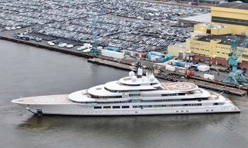 140m Lurssen 'Project Lightning' launched