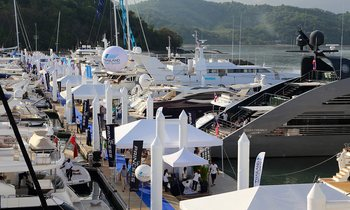 Superyachts Assemble for the Thailand Yacht Show