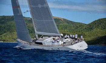 Charter yacht SPIIP wins Superyacht Challenge Antigua