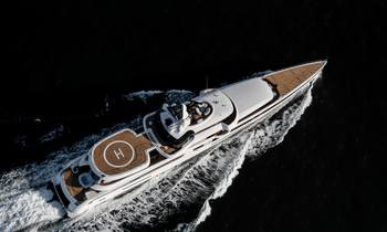 Feadship superyacht 'LADY S' delivered & ready for Med charters