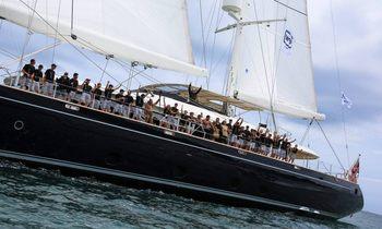 Charter Yacht SILENCIO Wins 2015 Millennium Cup