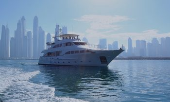 M/Y DXB available for Abu Dhabi Grand Prix yacht charter