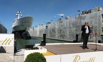 Benetti launches their longest superyacht yet