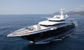 M/Y ANASTASIA Largest Yacht to Attend SYS