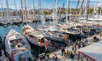 Yachts Gather for the 2017 Palma Superyacht Show