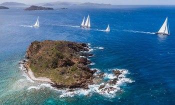 Charter Yachts Prepare for Loro Piana Regatta in BVI