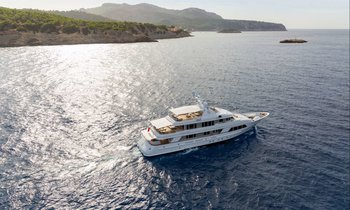 M/Y GO Open for September Mediterranean Charters