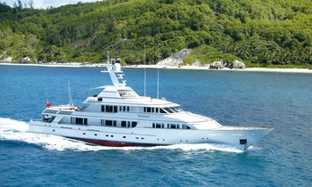Save $45,000 on M/Y TELEOST This Summer