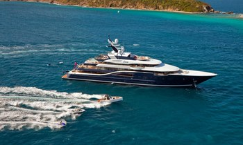 M/Y SOLANDGE Confirmed For Palm Beach Boat Show