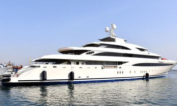 85m M/Y O'PTASIA delivered from Golden Yachts